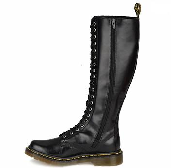 bottes-femme-cuir-Dr-Martens-1B60-noir-165-euros-chez-Shoes.fr
