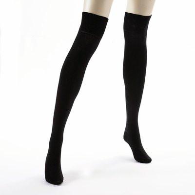 grandes chaussettes noires pas cher 7 euros. Black Bedroom Furniture Sets. Home Design Ideas